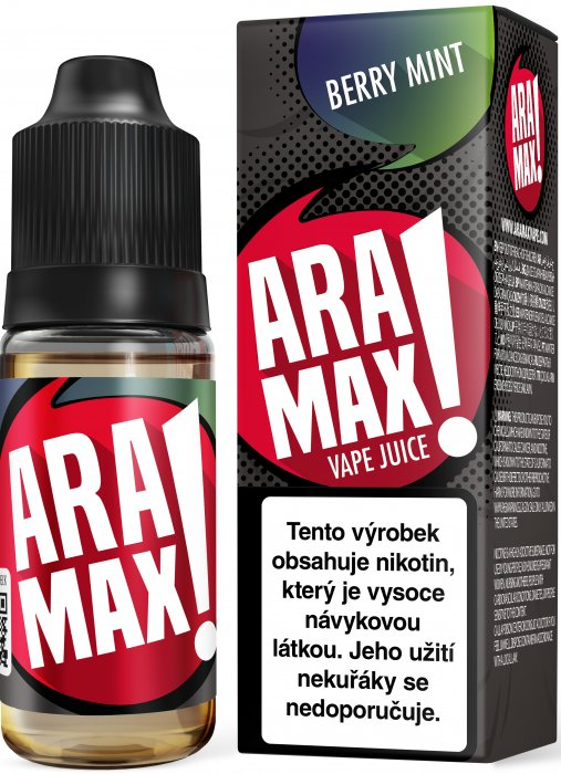 LIQUID ARAMAX BERRY MINT 10ML-18MG