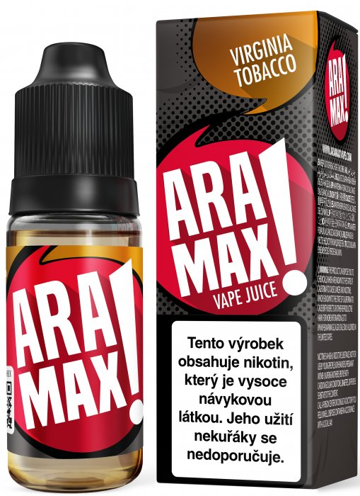 LIQUID ARAMAX VIRGINIA TOBACCO 10ML-18MG