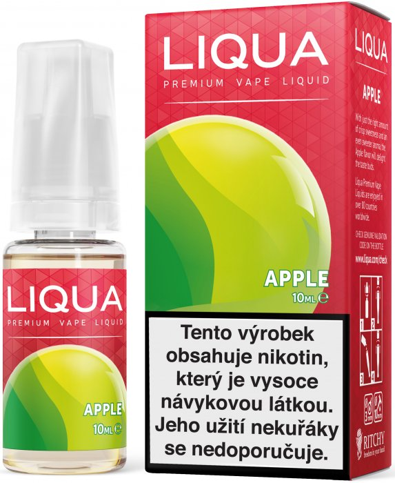 LIQUID LIQUA CZ ELEMENTS APPLE 10ML-18mg(JABLKO)