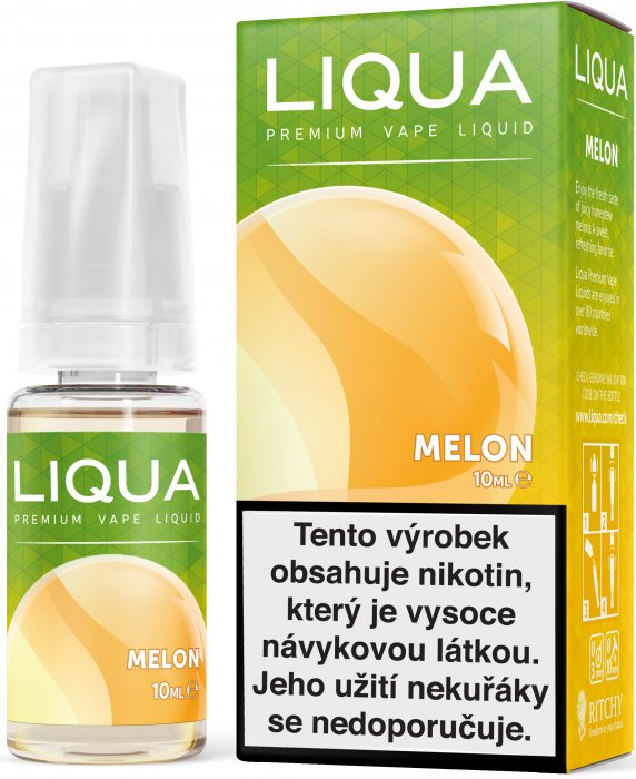 LIQUID LIQUA CZ ELEMENTS MELON 10ML-18mg(ŽLUTÝ MELOUN)