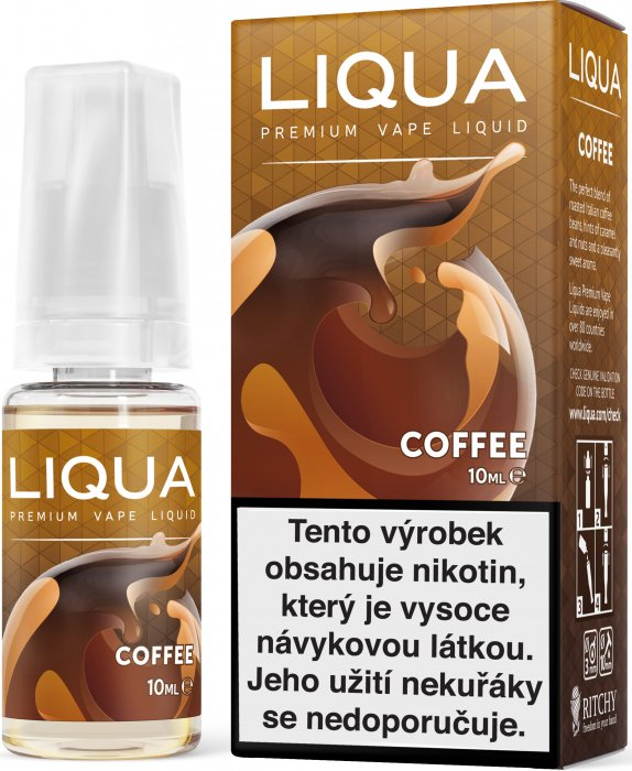 LIQUID LIQUA CZ ELEMENTS COFFEE 10ML-3mg(KÁVA)