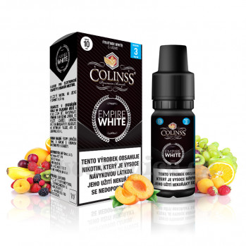 E-liquid Colinss 10ml / 18mg: Empire White (Ovocná směs)