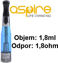 ASPIRE CE5 BDC CLEAROMIZER 1,8OHM 1,8ML