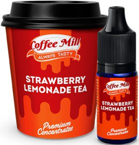 PŘÍCHUŤ COFFEE MILL 10ML STRAWBERRY LEMONADE TEA