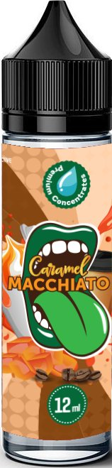 PŘÍCHUŤ BIG MOUTH SHAKE AND VAPE 12ML CLASSICAL CARAMEL MACCHIATO