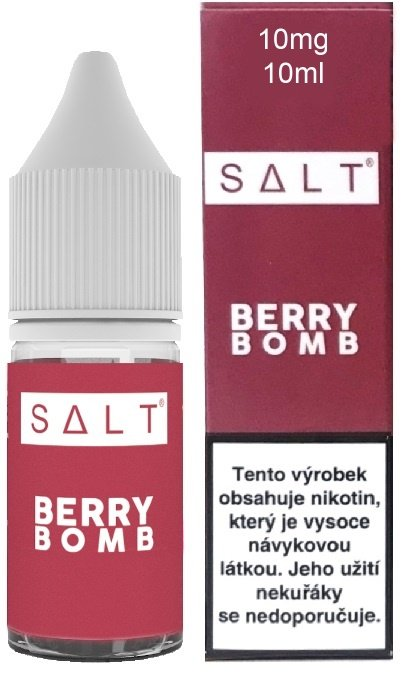 LIQUID JUICE SAUZ SALT CZ BERRY BOMB 10ML - 10MG