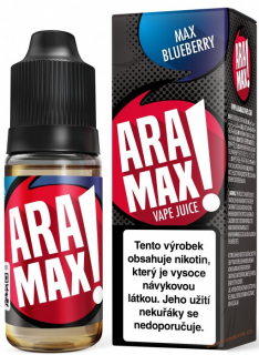 LIQUID ARAMAX MAX BLUEBERRY 10ML-18MG