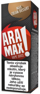 LIQUID ARAMAX MAX CREAM DESSERT 10ML-18MG