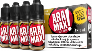 LIQUID ARAMAX 4PACK CIGAR TOBACCO 4X10ML-18mg