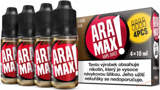 LIQUID ARAMAX 4PACK COFFEE MAX 4X10ML-6mg