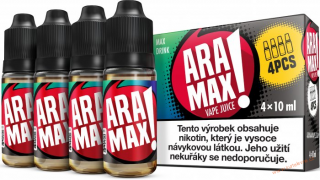 LIQUID ARAMAX 4PACK MAX DRINK 4X10ML-6mg