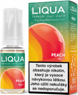 LIQUID LIQUA CZ ELEMENTS PEACH 10ML-6mg(BROSKEV)