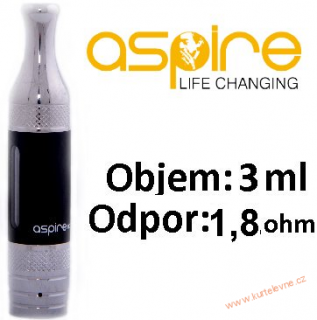 ASPIRE ET-S VICTORY BVC CLEAROMIZER 3ML 1,8OHM