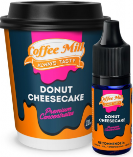 PŘÍCHUŤ COFFEE MILL 10ML DONUT CHEESECAKE