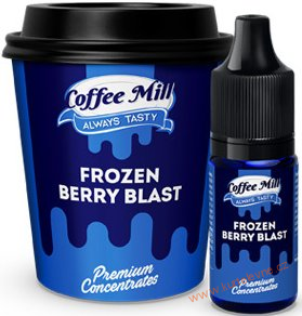 PŘÍCHUŤ COFFEE MILL 10ML FROZEN BERRY BLAST