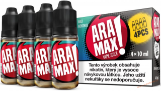 LIQUID ARAMAX 4PACK MAX MENTHOL 4X10ML-12MG