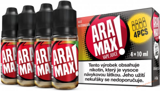 LIQUID ARAMAX 4PACK MAX WATERMELON 4X10ML-12MG