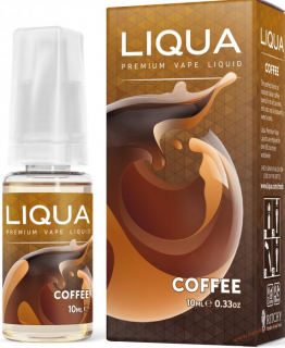 LIQUID LIQUA CZ ELEMENTS COFFEE 10ML-0MG (KÁVA)