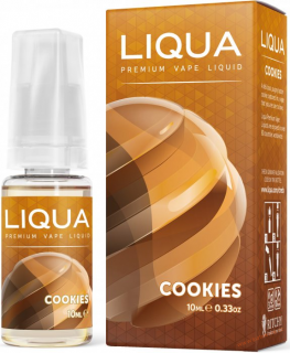 LIQUID LIQUA CZ ELEMENTS COOKIES 10ML-0MG (SUŠENKA)