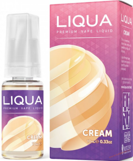 LIQUID LIQUA CZ ELEMENTS CREAM 10ML-0MG (SMETANA)