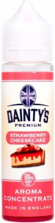 PŘÍCHUŤ DAINTY´S PREMIUM STRAWBERRY CHEESECAKE 20ML